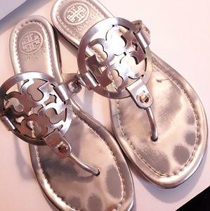 Tory Burch-Miller metallic sandals